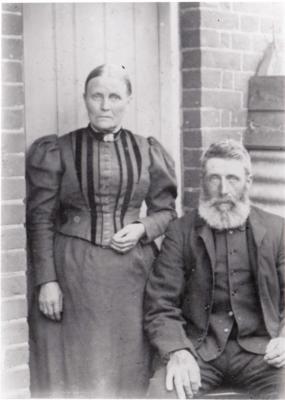 Emma and Thomas Daniels of Sudbury's Farm