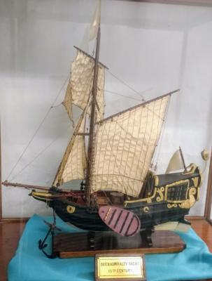 Object profile: Model ship